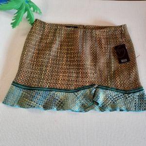 TRUE MEANING Pastel SPRING tweed career skirt nwt